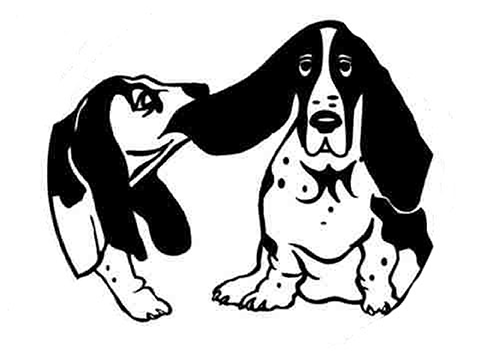 Helping Hands Basset Rescue Logo