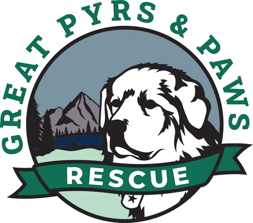 Great Pyrs & Paws Logo