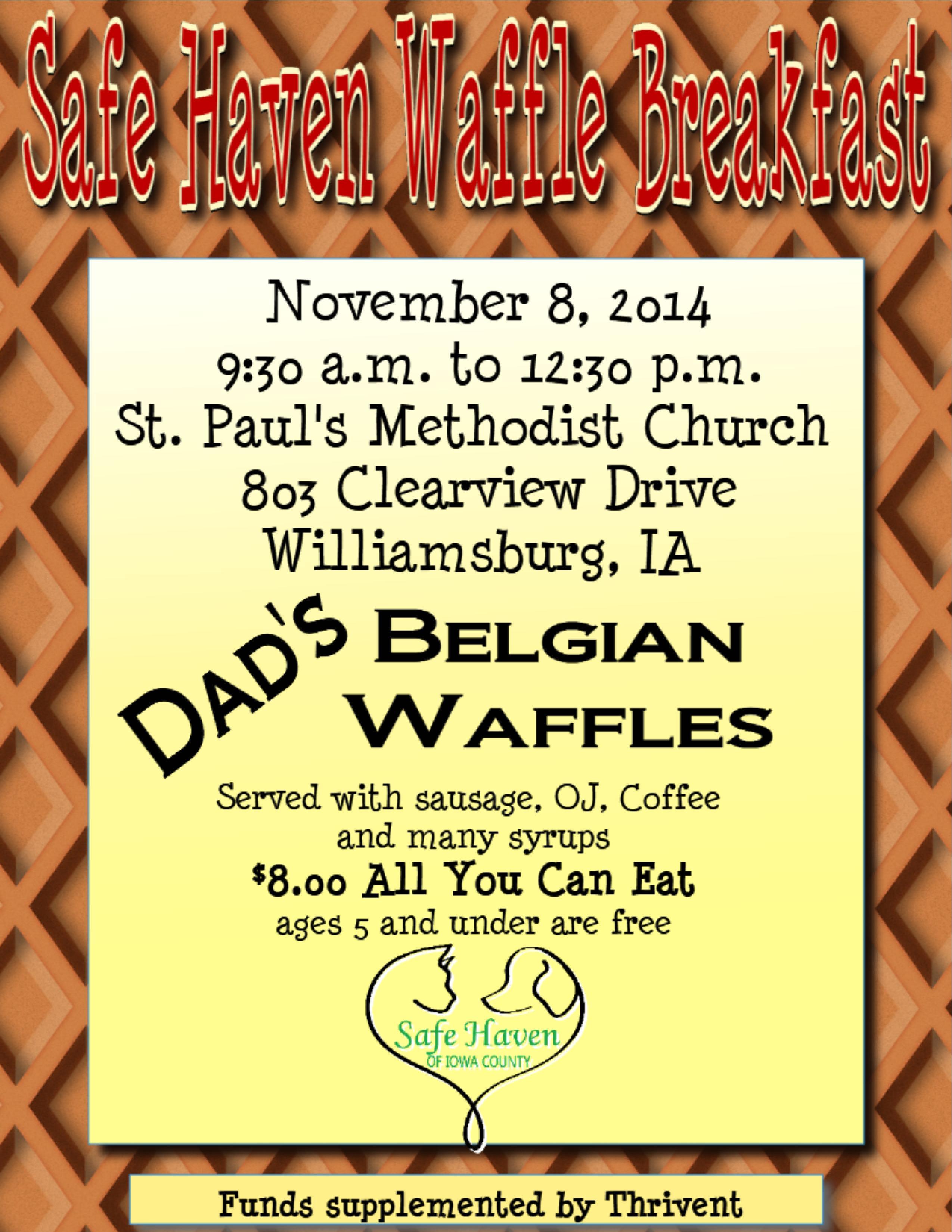 waffle bfast fall 2014