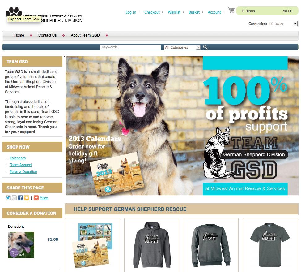 Team GSD Store 2013