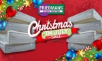 Friedmans Christmas in July Sealy Sale!
