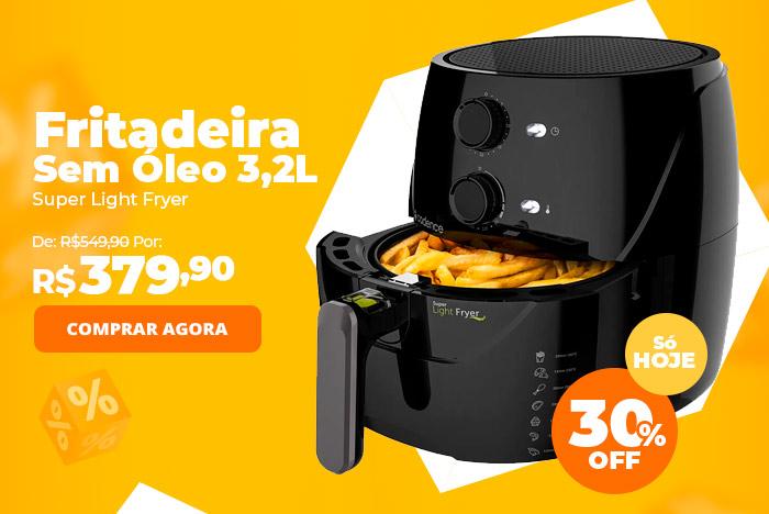 Fritadeira Sem Óleo 3,2L Cadence Super Light Fryer