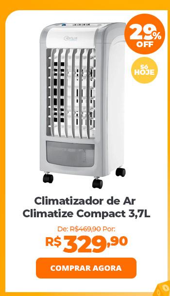 Climatizador de Ar Cadence Climatize Compact 3,7L