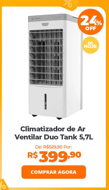 Climatizador de Ar Cadence Ventilar Duo Tank 5,7L