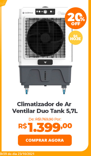 Climatizador de Ar Cadence Ultra Space 45L