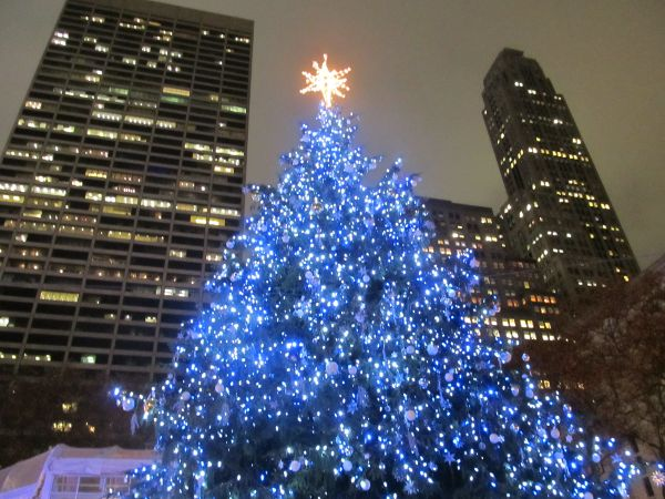 Christmas Blue Led Lights