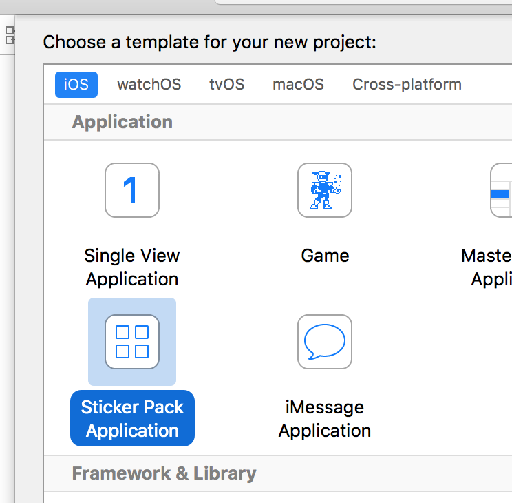 Sticker Pack Application