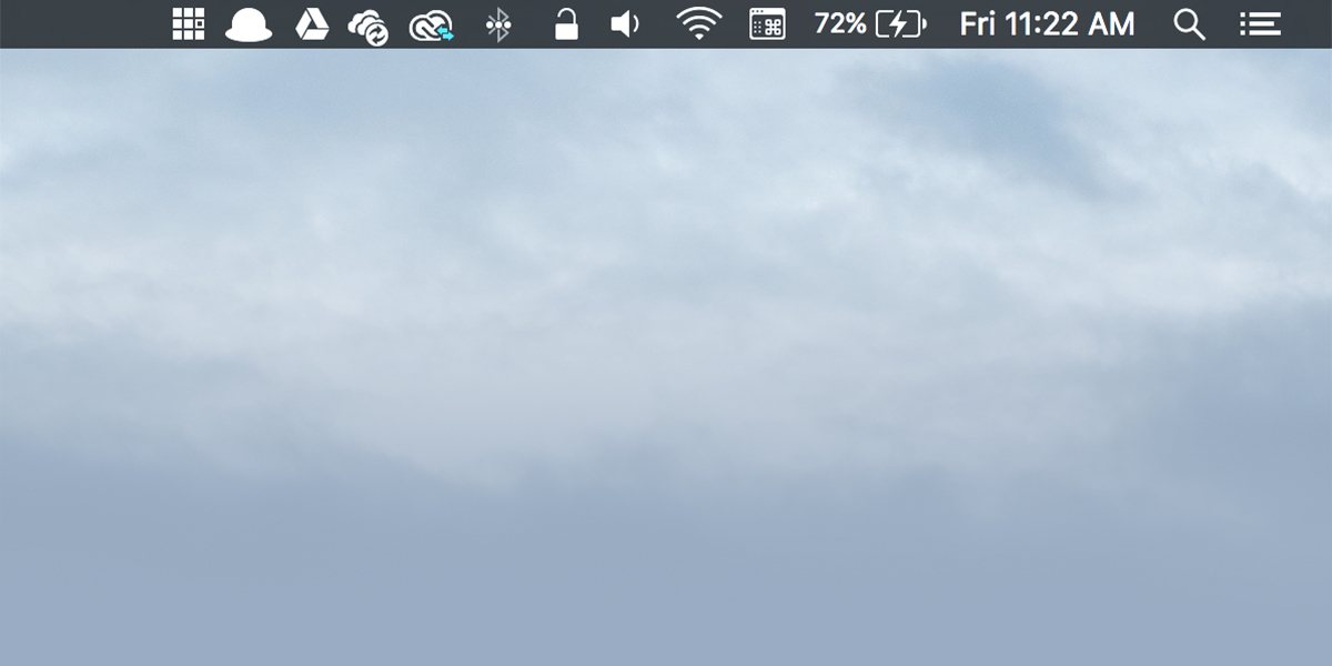 OSX Status Bar Tricks For The Mac Poweruser