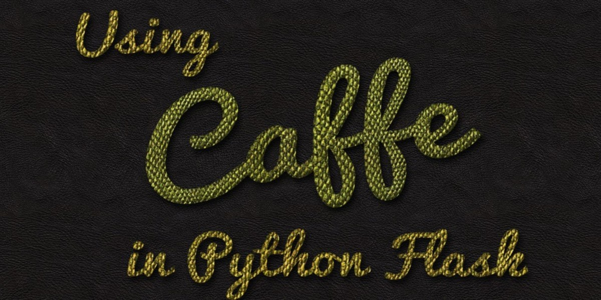 Using Caffe In A Python Flask Application