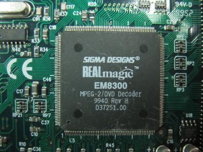Sigma designs realmagic em8300