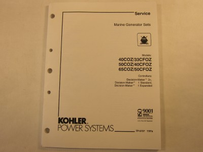 Kohler 7.3ecd service