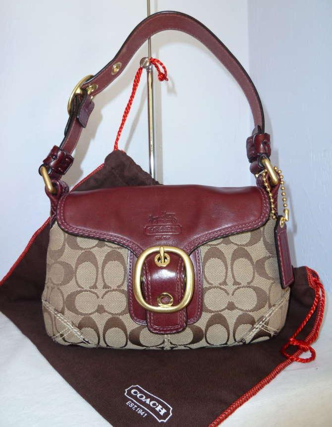 Check authenticity of coach bag