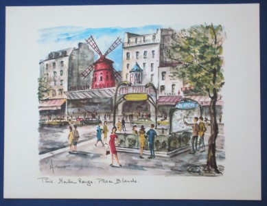 arno vintage paris watercolor by