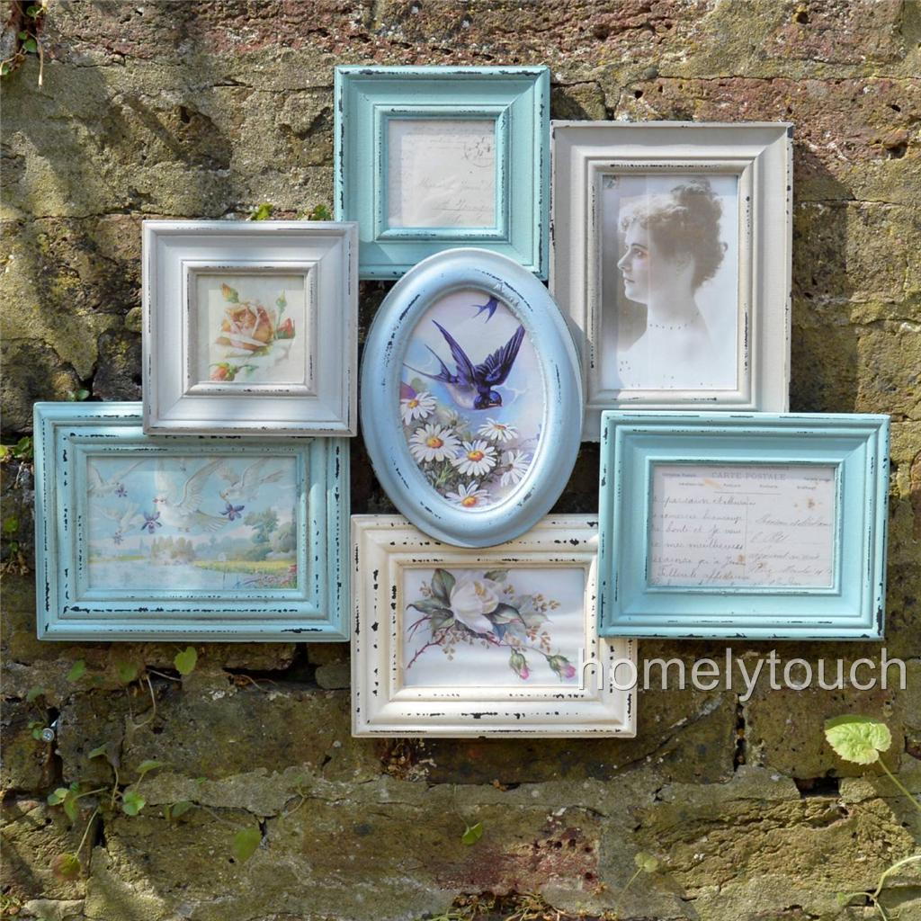 Diy vintage style picture frame crafthubs vintage style photo frame multi picture collage frames jeuxipadfo Images