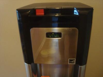 Five Gallon Water Dispenser VIVA Water Dispenser Cooler Hot/Cold blk Stainless Steel ...