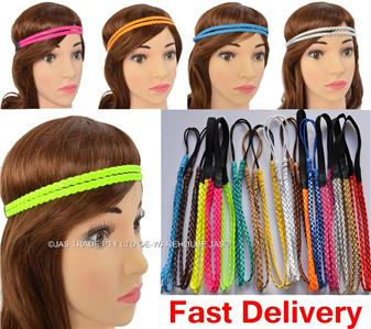 Admirable 12 Dressup Disco Fluro 80S Party Dance Costume Braided Plaited Hairstyle Inspiration Daily Dogsangcom