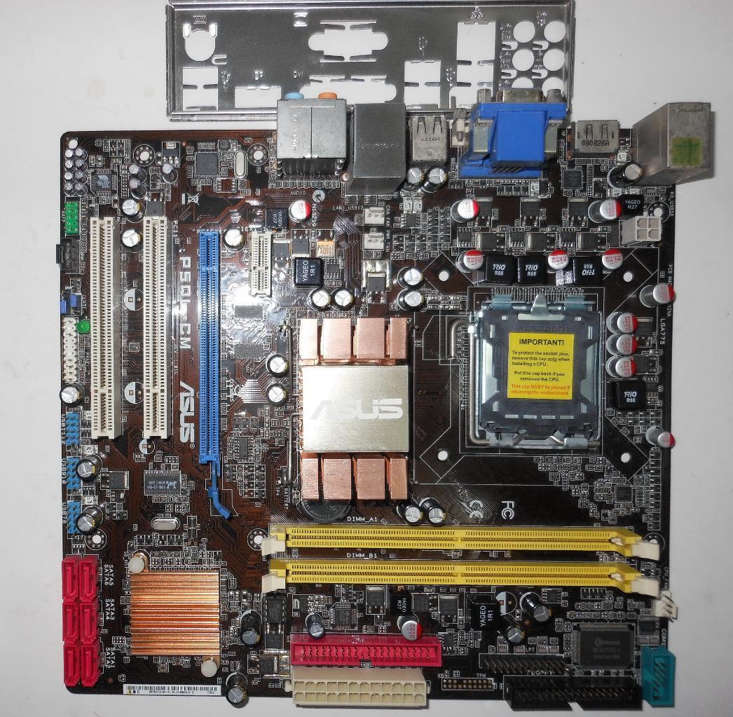 Asus p5ql-cm motherboard