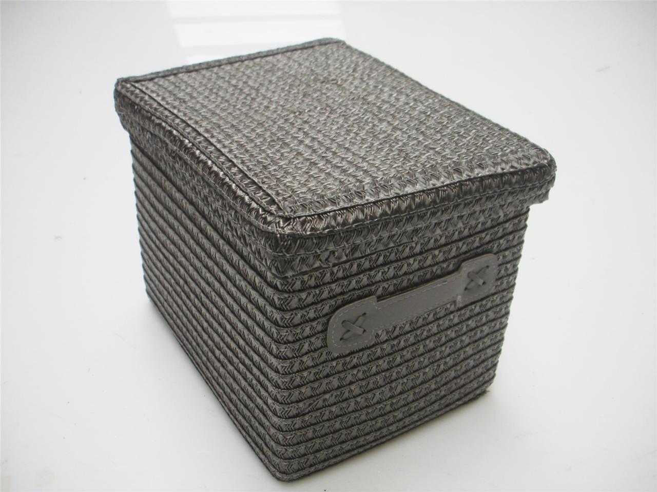 Exceptionnel Wicker Storage Baskets With Lids Best Storage Design 2017