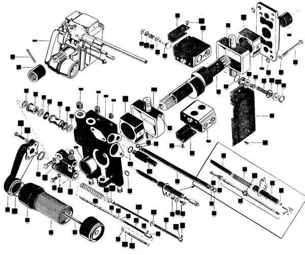 massey ferguson 135 tractor diagram