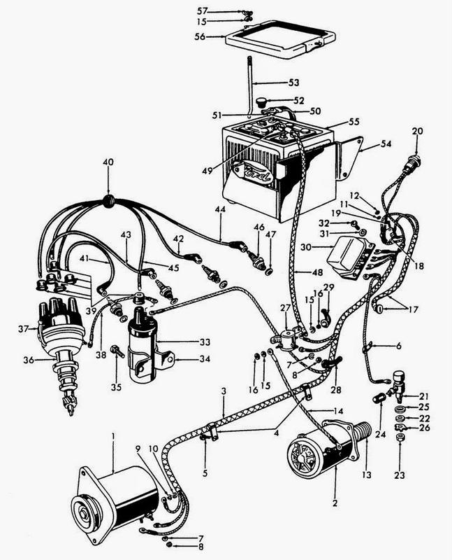 ford 1510 tractor parts diagrams