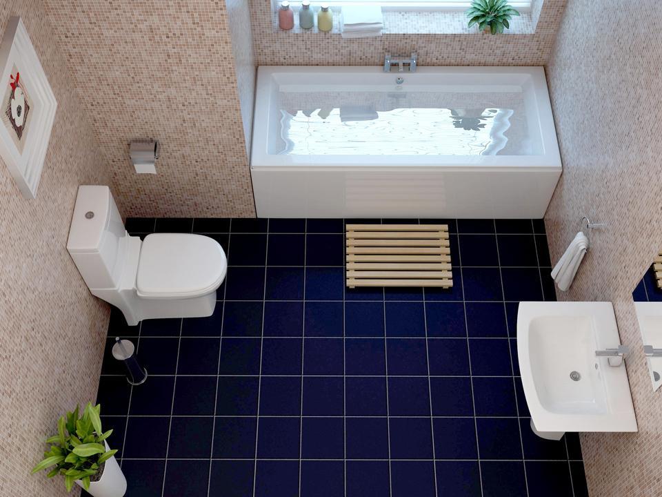 Three Piece Bathroom Home Design