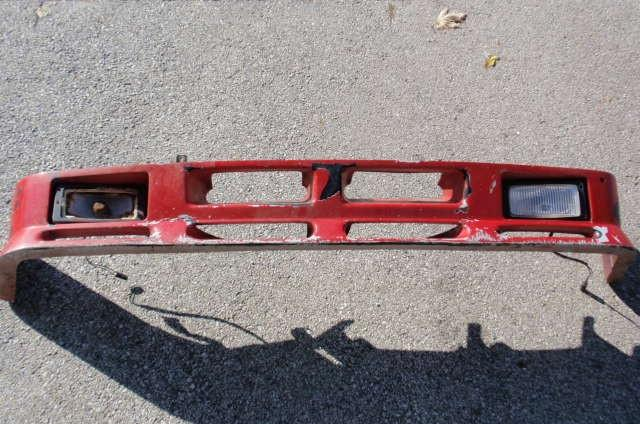 87 is airdam with partial brackets and fog lights $200 as-is (replacement lens available)
