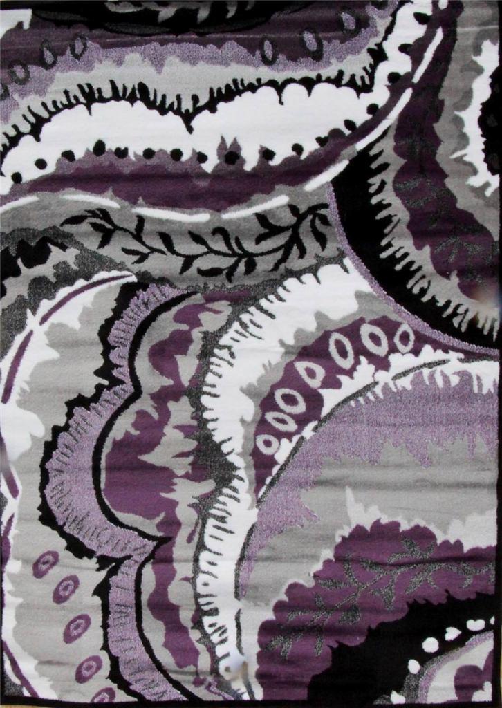 Home U0026 Garden U003e Rugs Carpets Area Persian Purple Black White