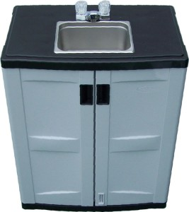 Coleman Kitchen Station With Sink Portable Outdoor Sink Garden Camp Kitchen Camping Food ...