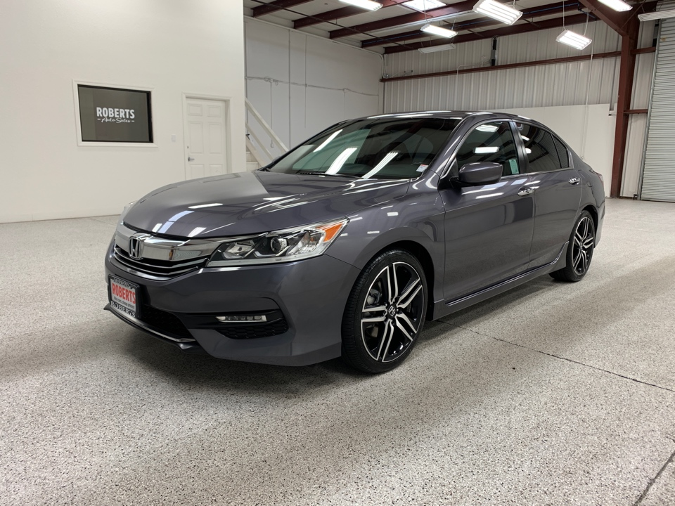 2016 Honda Accord Sport For Sale >> Used 2016 Honda Accord Sport Sedan 4d For Sale At Roberts Auto Sales