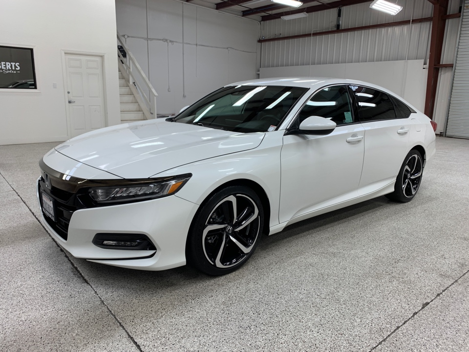 Honda Accord Sport For Sale >> Used 2018 Honda Accord Sport Sedan 4d For Sale At Roberts Auto Sales