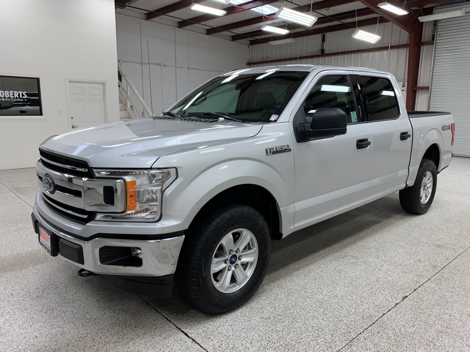 Roberts Auto Sales 2018 Ford F150 SuperCrew Cab