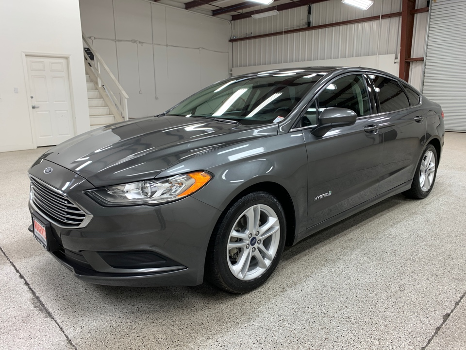 Roberts Auto Sales 2018 Ford Fusion