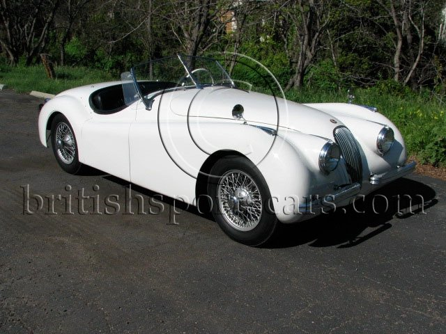 British Sports Cars car search / 1951 Jaguar XK 120 Roadster /