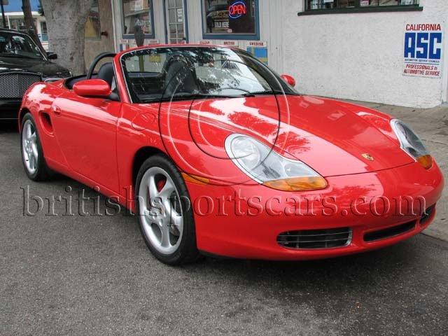 British Sports Cars car search / 2002 Porsche Boxster