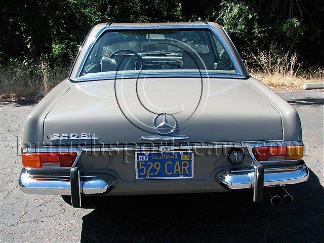 British Sports Cars car search / 1970 Mercedes 280