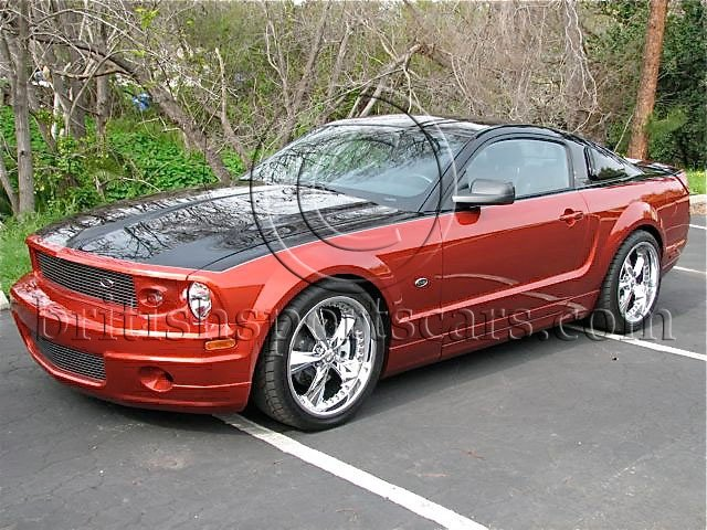 British Sports Cars car search / 2007 Ford Mustang Foose /