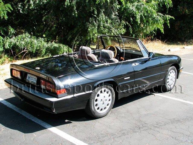 British Sports Cars car search / 1986 Alfa Romeo Spider