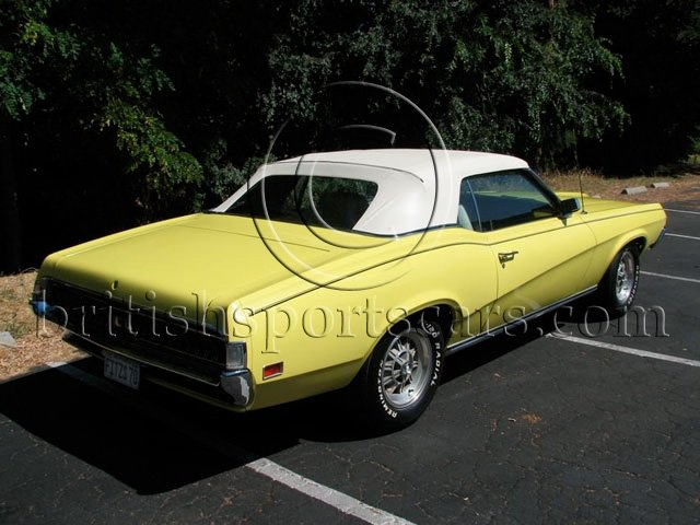 British Sports Cars car search / 1970 Mercury Cougar
