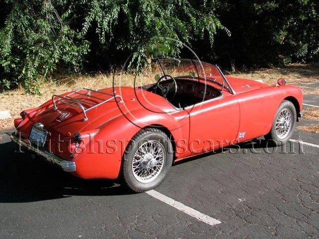 British Sports Cars car search / 1960 MG MGA