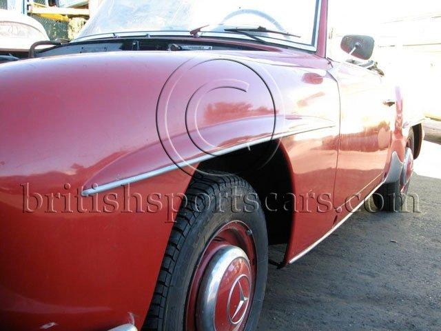 British Sports Cars car search / 1955 Mercedes 190