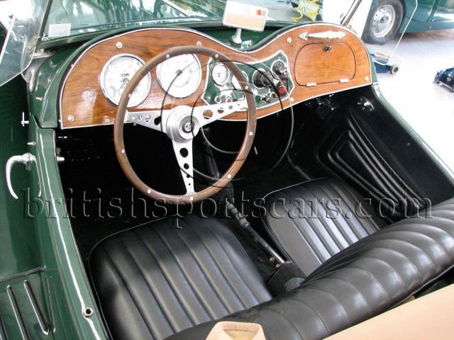 british sports cars   1952 mg td for sale
