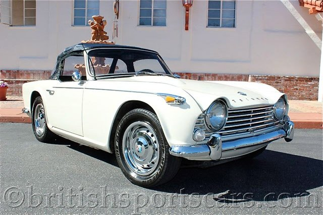British Sports Cars car search / 1966 Triumph TR4