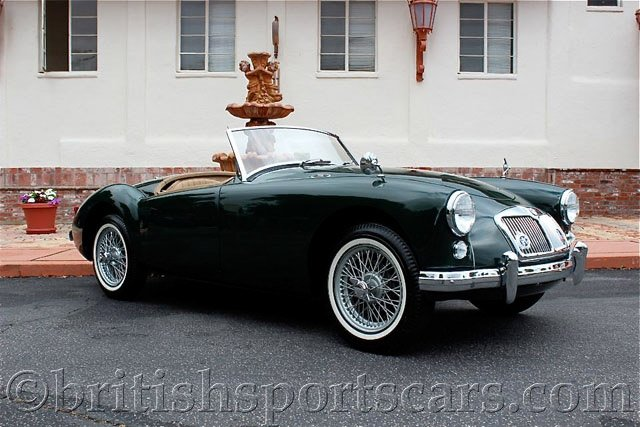 British Sports Cars car search / 1958 MG MGA 1500 /