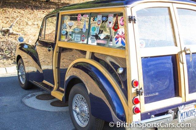 British Sports Cars car search / 1958 Morris Minor 1000