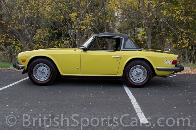 British Sports Cars car search / 1975 Triumph TR6