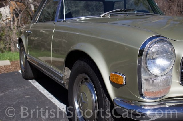British Sports Cars car search / 1969 Mercedes-Benz 280 SL