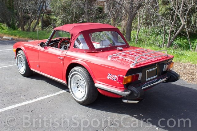 British Sports Cars car search / 1974 Triumph TR6