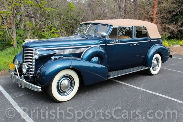 British Sports Cars car search / 1938 Buick Roadmaster Convertible Sedan /