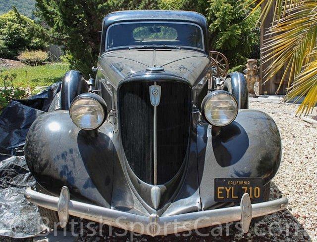 British Sports Cars car search / 1934 Studebaker President