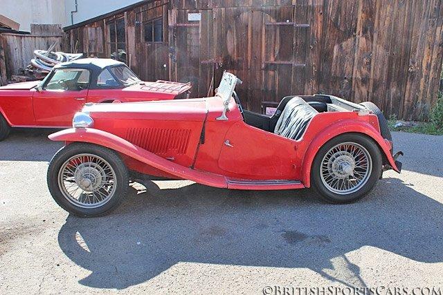 British Sports Cars car search / 1949 MG TC